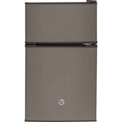 GE® 3.1 cu. ft. Double-Door Compact Refrigerator