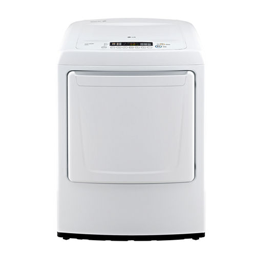 LG 7.3 cu.ft. Ultra-Large Capacity High-Efficiency Electric Dryer with Front Control Design
