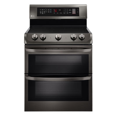LG 7.3 cu. ft. Electric Double Oven Range with ProBake Convection™ and EasyClean®