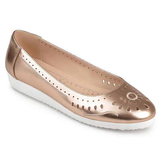 Journee Collection Womens Cindra Slip-On Shoe Round Toe