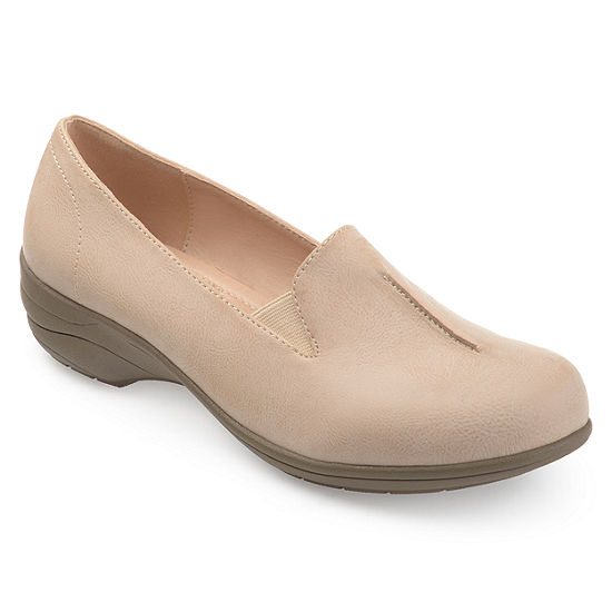 Journee Collection Womens Ellery Loafers Slip On Round Toe