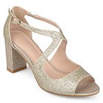 Journee Collection Womens Aalie Pumps Block Heel