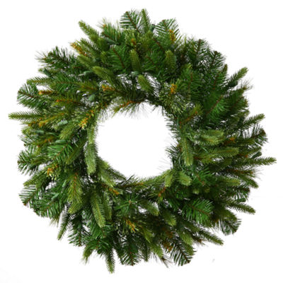 "Vickerman 24"" Cashmere Christmas Wreath Unlit"""