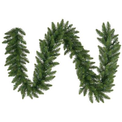 Vickerman 25' Camdon Fir Christmas Garland Unlit