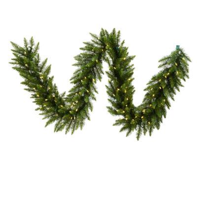 Vickerman 25' Camdon Fir Christmas Garland with 450 Warm White LED Lights