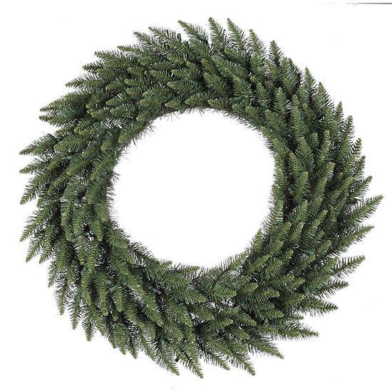 "Vickerman 36"" Camdon Fir Christmas Wreath Unlit"""
