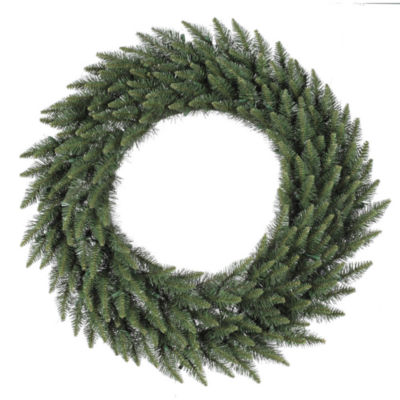 "Vickerman 48"" Camdon Fir Christmas Wreath Unlit"""