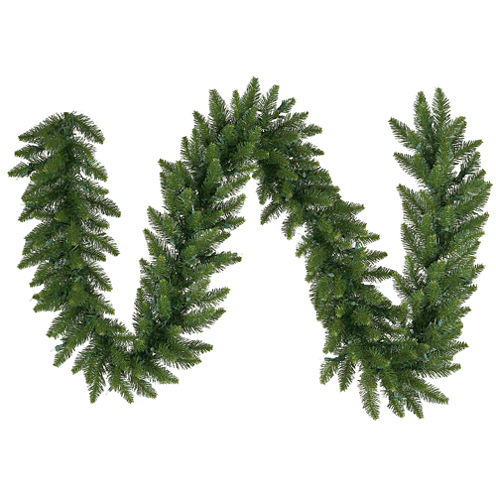 Vickerman 50' Camdon Fir Christmas Garland Unlit