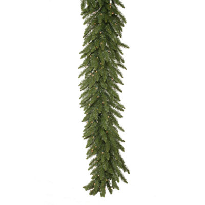Vickerman 50' Camdon Fir Christmas Garland with 400 Clear Lights