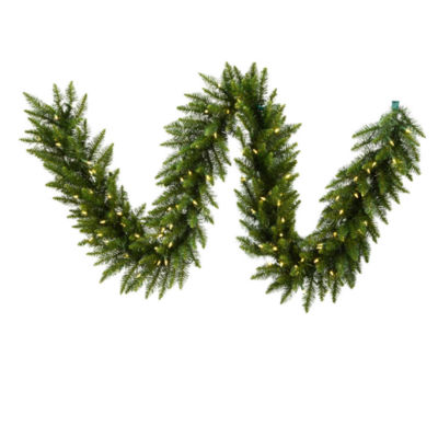 Vickerman 50' Camdon Fir Christmas Garland with 500 Warm White LED Lights