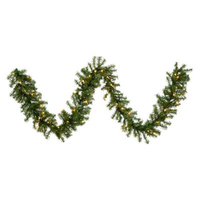Vickerman 50' Canadian Pine Christmas Garland with 200 Clear Lights
