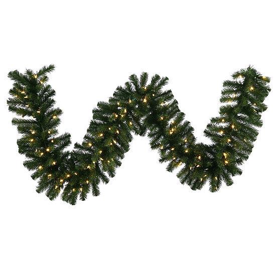 Vickerman 50' Douglas Fir Christmas Garland with 350 Warm White LED Lights