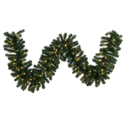 Vickerman 50' Douglas Fir Christmas Garland with 400 Warm White LED Lights