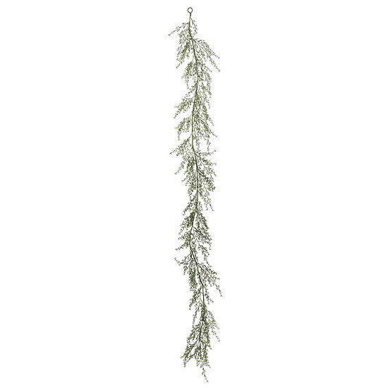 Vickerman 6' Green Fairhill Leaf Garland X 258