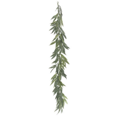 Vickerman 6' Green Muddy White Willow Garland X 30