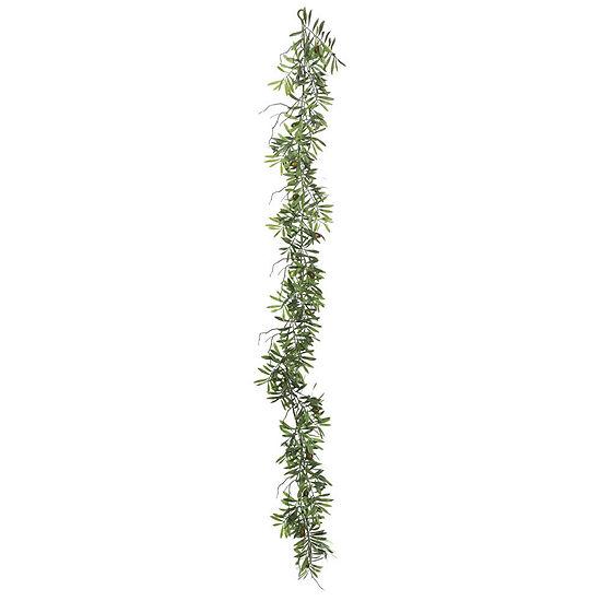 Vickerman 6' Green Olive Hill Garland X 59