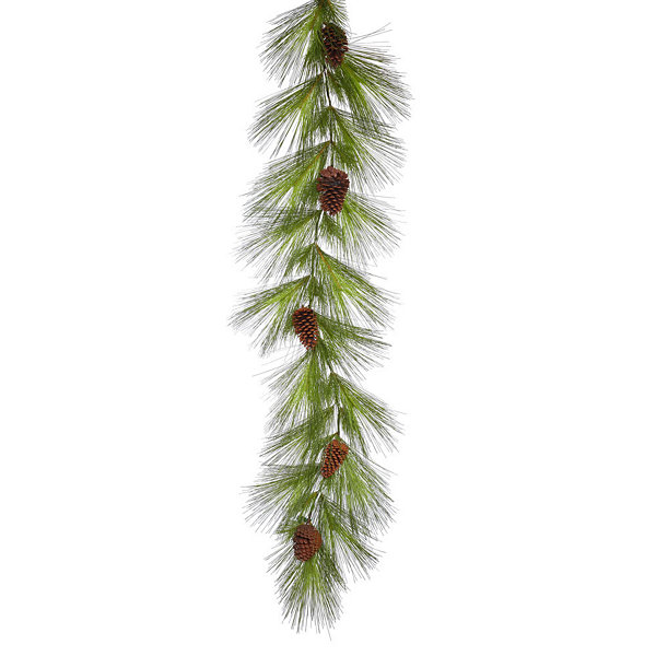 Vickerman 6' Big Mountain Pine Christmas Garland Unlit