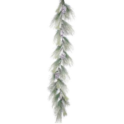 Vickerman 6' Frosted Norway Pine Christmas GarlandUnlit