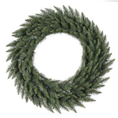 "Vickerman 60"" Camdon Fir Christmas Wreath Unlit"""