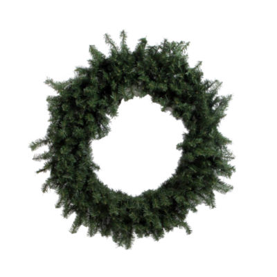 "Vickerman 60"" Canadian Pine Christmas Wreath Unlit"""
