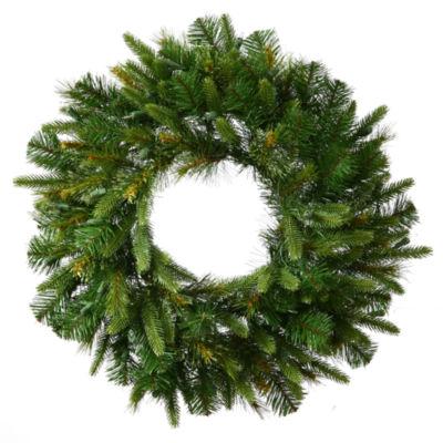 """Vickerman 60"""" Cashmere Christmas Wreath Unlit"""