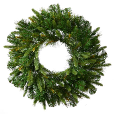 "Vickerman 72"" Cashmere Christmas Wreath Unlit"""