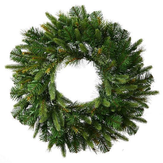 """Vickerman 72"""" Cashmere Christmas Wreath Unlit"""""""