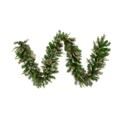 "Vickerman 9"" Cashmere Christmas Garland Unlit"