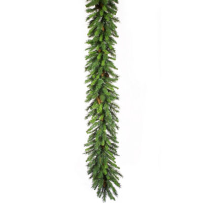 Vickerman 9' Cheyenne Christmas Garland Unlit