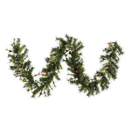 Vickerman 9' Mixed Country Pine Christmas GarlandUnlit