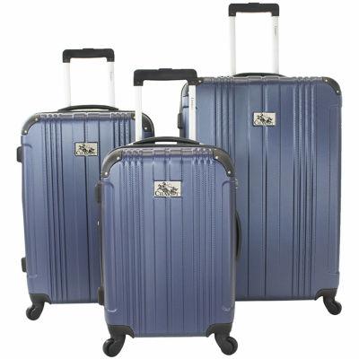 Chariot Travelware Monet 3 PC Hardside Luggage Set