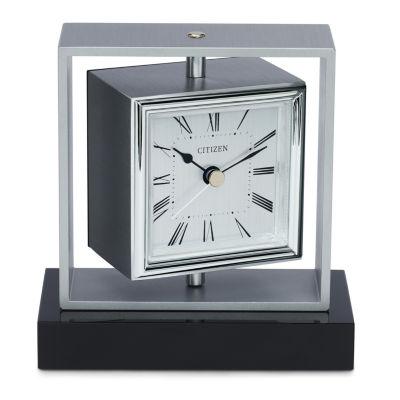 Citizen White Table Clock Cc1007