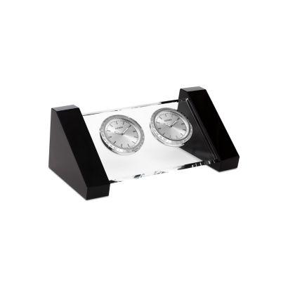 Citizen Silver Tone Table Clock-Cc1008