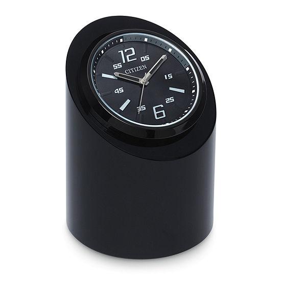 Citizen Black Table Clock-Cc1010