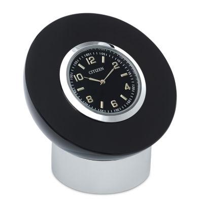 Citizen Black Table Clock-Cc1011