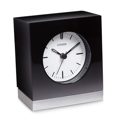 Citizen White Table Clock-Cc1012