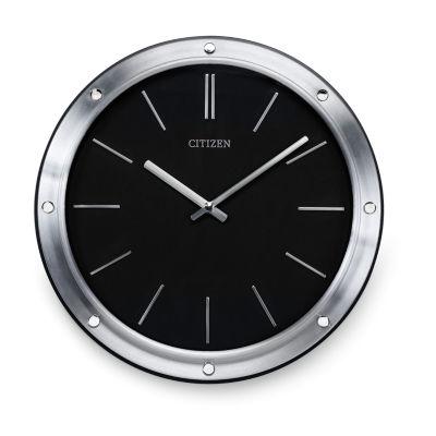 Citizen Black Wall Clock-Cc2001