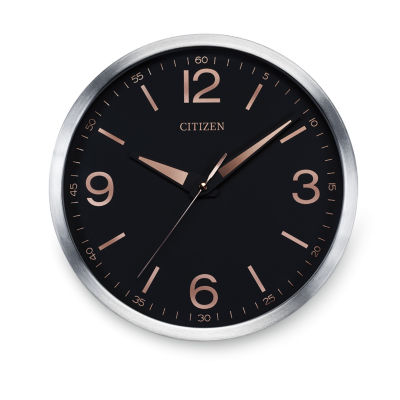 Citizen Black Wall Clock-Cc2002