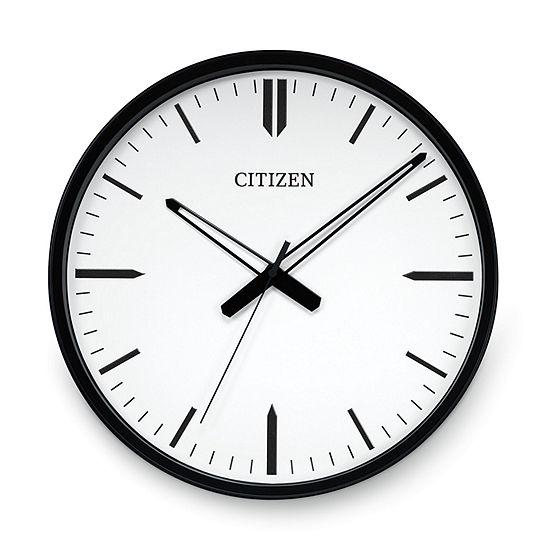 Citizen White Wall Clock-Cc2005