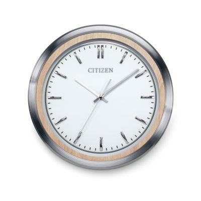 Citizen White Wall Clock-Cc2009