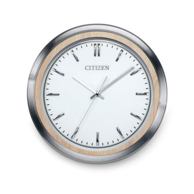 Citizen White Wall Clock-Cc2009
