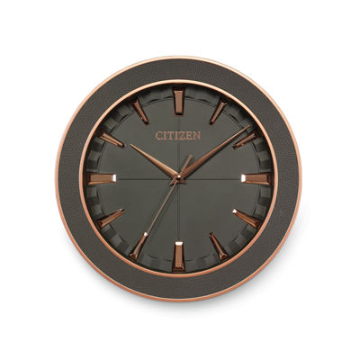 Citizen Gray Wall Clock-Cc2011