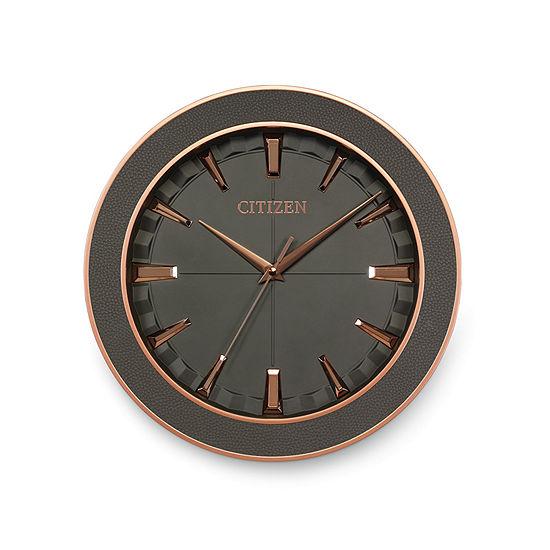 Citizen Gray Wall Clock-Cc2011