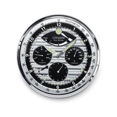 Citizen Silver Tone Wall Clock-Cc2013