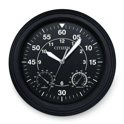 Citizen Black Wall Clock-Cc2016