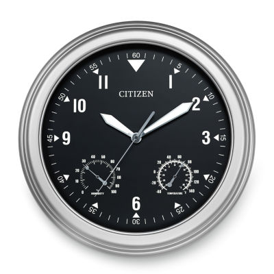 Citizen Black Wall Clock-Cc2017