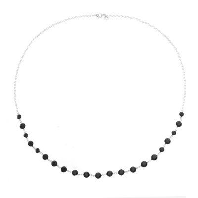 Gloria Vanderbilt Womens Brass Strand Necklace