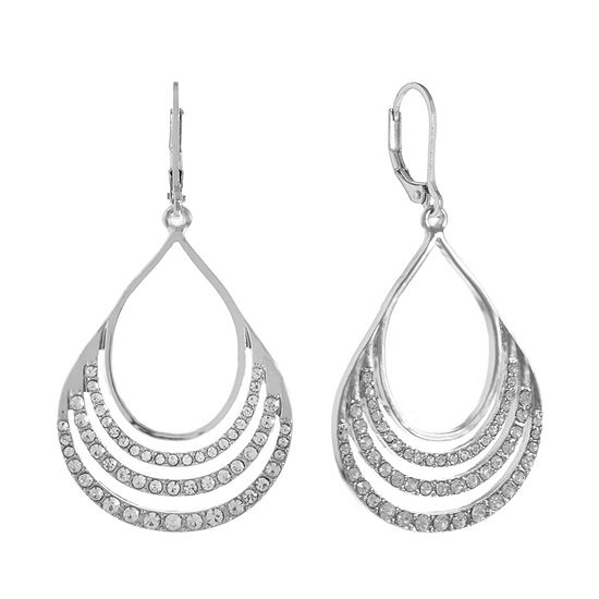 Gloria Vanderbilt 1 Pair Round Drop Earrings