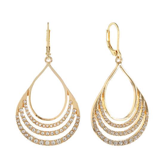 Gloria Vanderbilt 1 Pair Round Drop Earrings