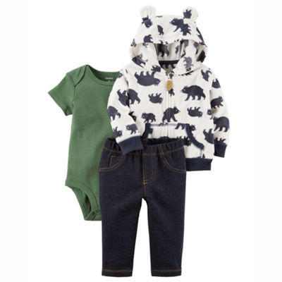 Carter's 3-pc. Animal Pant Set Baby Boys